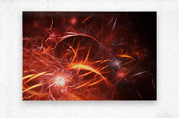 The Forge  Metal print