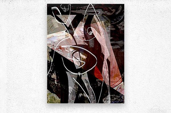 P A R I S  Metal print
