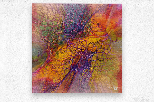 artabstract mix10  Metal print