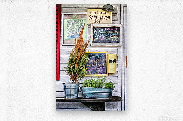 Safe Haven Days  Metal print