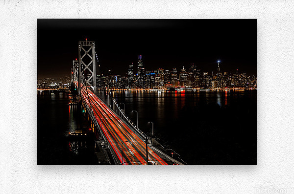 Sinner City  Metal print