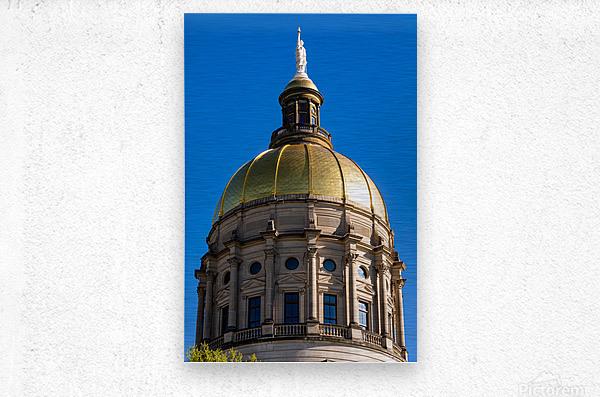 Georgia State Capitol Building   Atlanta GA 7190  Metal print