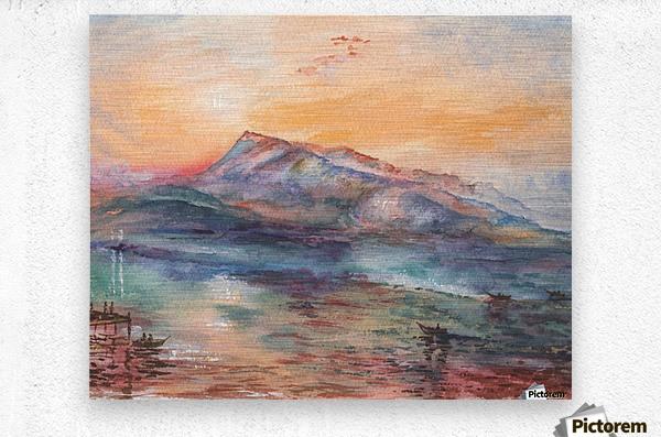 Mount Rigi Switzerland Lake  Metal print