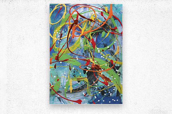 Colour Carnival II  Metal print