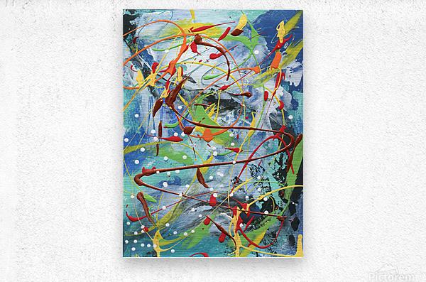 Colour Carnival I  Metal print