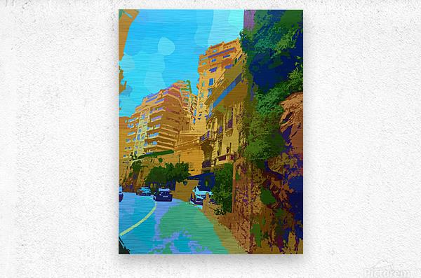 Monte Carlo Monaco Casino   Metal print
