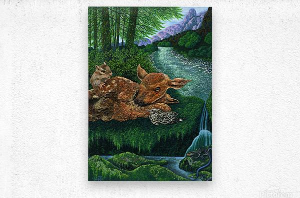 1991 05  Metal print