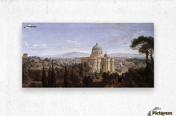 The St Peter's in Rome  Metal print