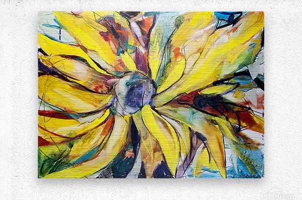Louisiana Sunflower II  Metal print