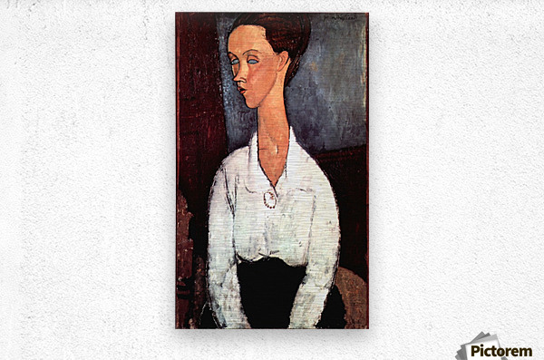 Modigliani - Portrait  Metal print