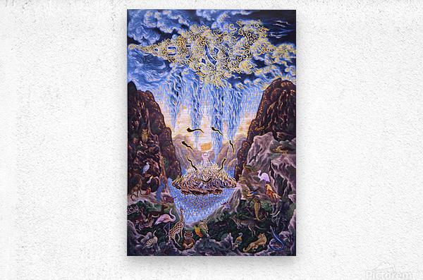 1990 028  Metal print