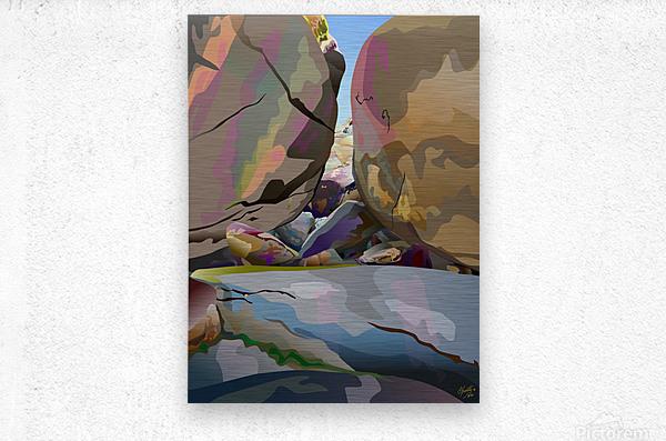 Box Canyon  Metal print
