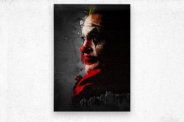 IHlXH Joaquin Phoenix Impressions sur Toile Le Joker Affiche Film Cuadros Peinture /À lhuile sur Affiche Mur Art Photo pour Salon D/écor /À La Maison 30X40 cm sans Cadre