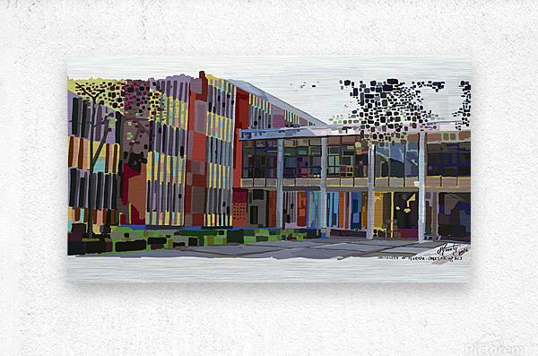 University of Florida College of Art  Metal print