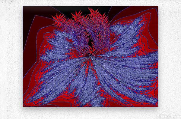 Desert Sand Wildflower 2  Metal print