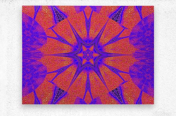 Lotus And Sunshine 2  Metal print