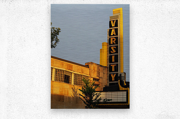 Varsity Theater   Metal print
