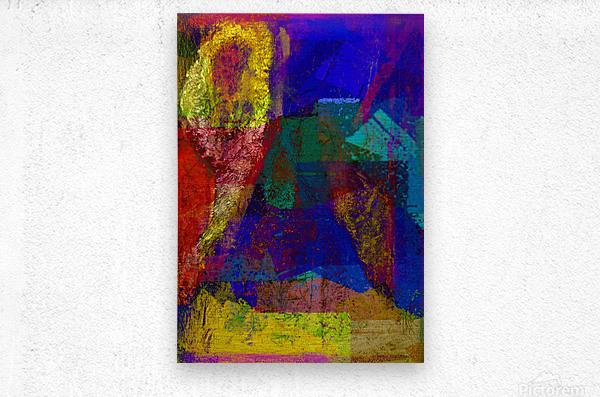 The Climber V2  Metal print