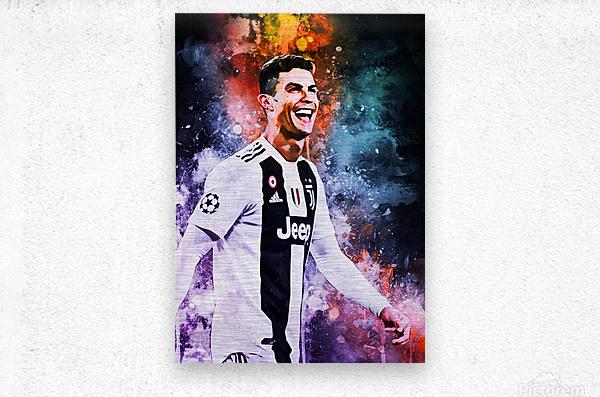 Cristiano Ronaldo  Metal print