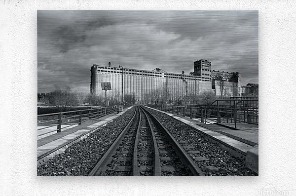 Vieux Montreal  Metal print