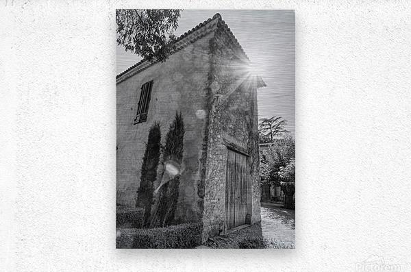 Provence  Metal print