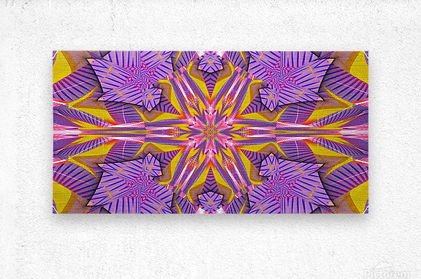 Lotus In The Pink 2  Metal print