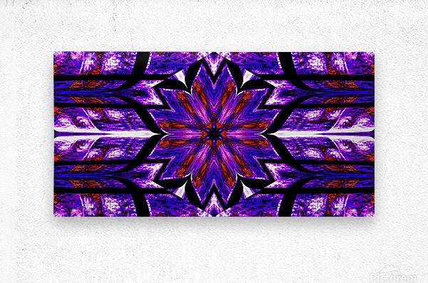 Lotus In Glow 14  Metal print