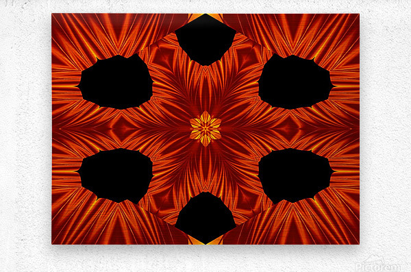 Fire Flowers 105  Metal print