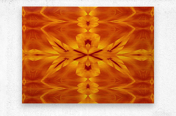 Fire Flowers 117  Metal print