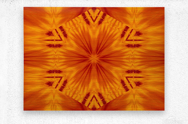 Fire Flowers 121  Metal print