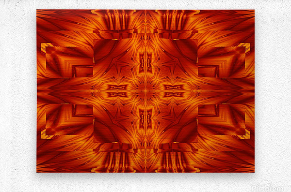 Fire Flowers 194  Metal print