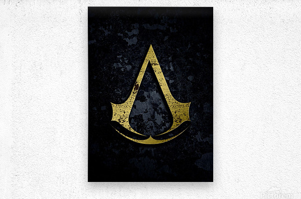 Assassin Creed  Metal print