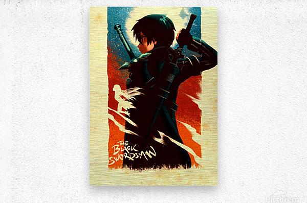 Kirito SWORD ART ONLINE  Metal print