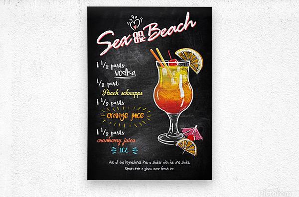 Sex on the Beach  Metal print