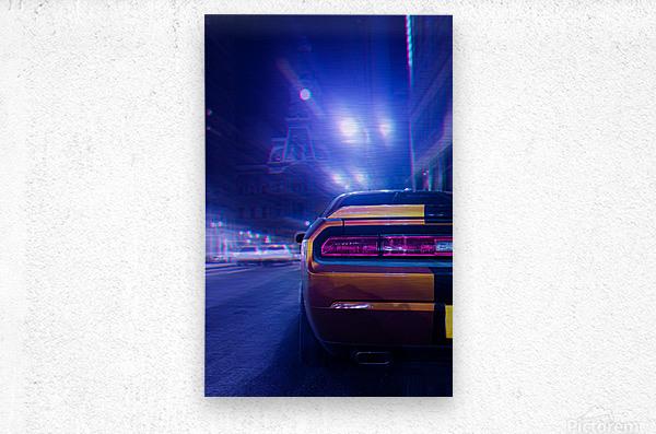 The Driver  Metal print