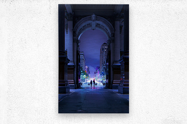 What Will Become Of Us  Metal print