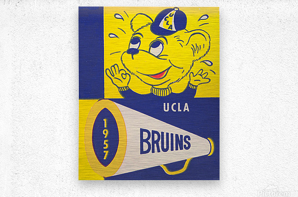 1957 UCLA Bruins  Metal print