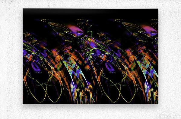 FLY FLUX  Metal print