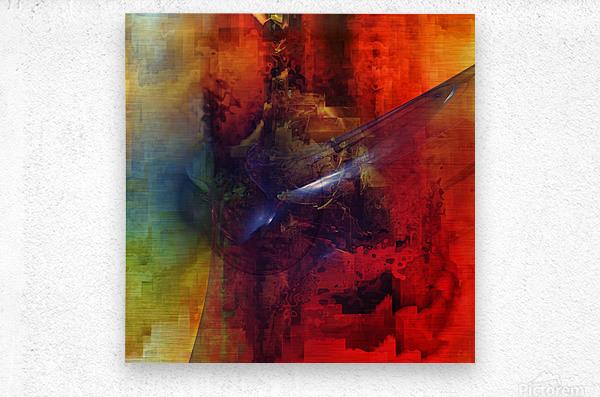 Cazimir dream   Metal print
