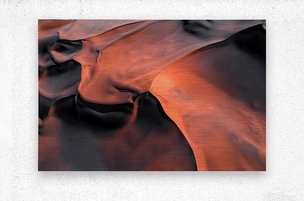 Sand hill  Metal print