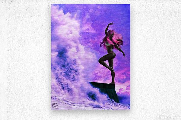 TheDancers 1.1 Female  Metal print