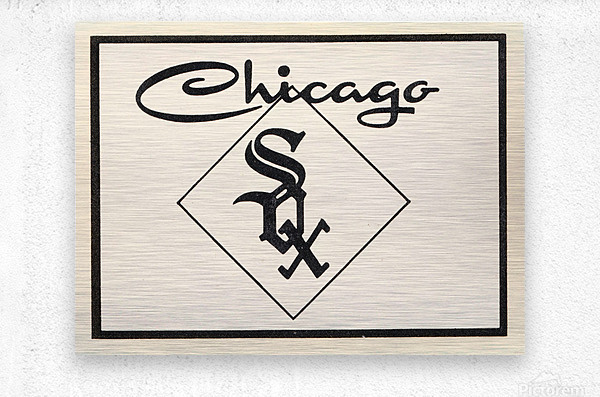 1961 Chicago White Sox Art  Metal print