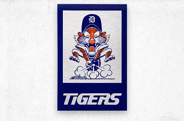 1972 Detroit Tigers Art  Metal print