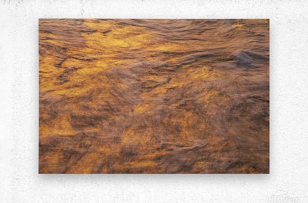Lake Erie waves 1  Metal print