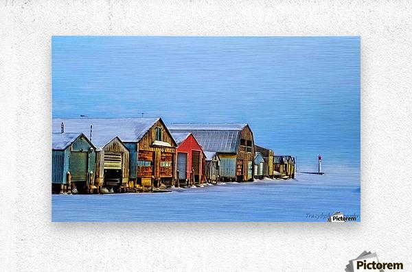 Boat Houses  Metal print