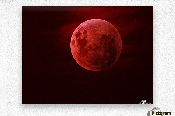 One Red Moon  Impression metal