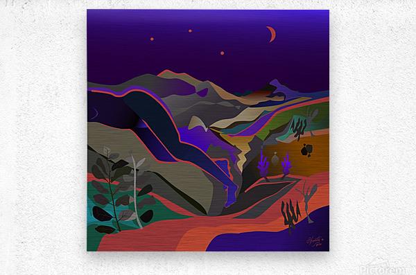Dreaming at Lookout Mountain  Metal print