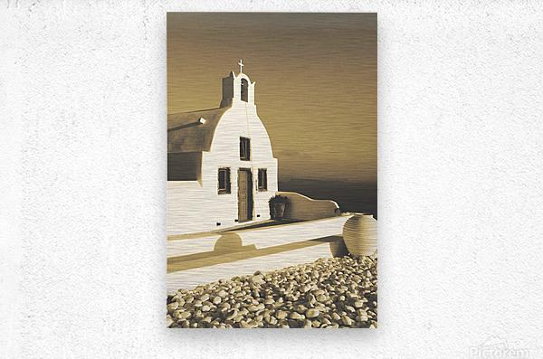 The Small Chapel  Metal print