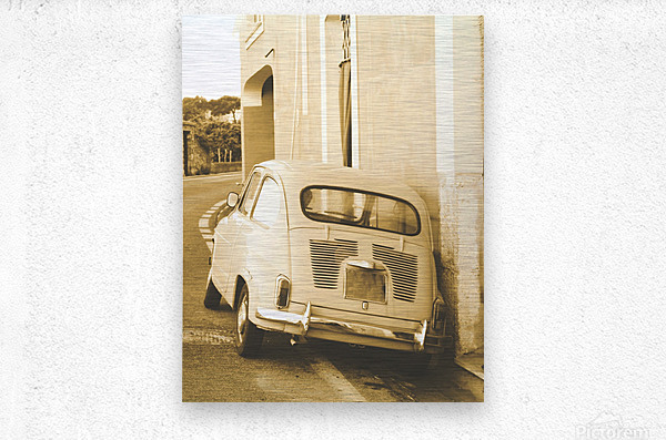 The old Car  Impression metal