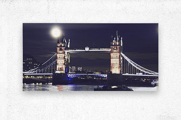 London by Night  Metal print